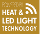 Eneo - Powered by Heat & LED Light Technology